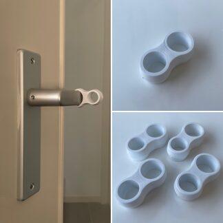 SumioProducts Door Stops / Door Handle Buffers White